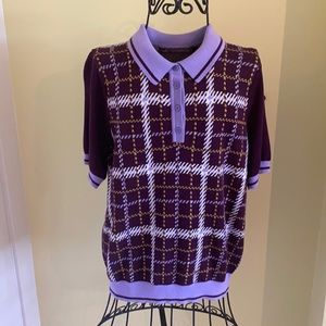 Retro Style Polo Sweater by Twik for Simons Sz L